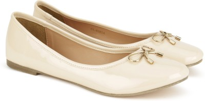 Carlton London CLL-4235 Ballerina For Women(Beige)