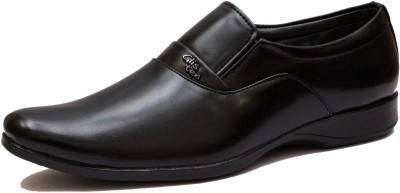 GLISTEN Slip On For Men(Black)