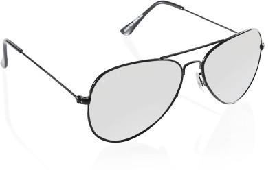 Fave Aviator Sunglasses(Grey) at flipkart