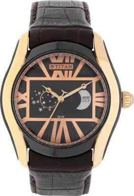 Titan 1665KL02 Celestial Analog Watch   For Men Titan Wrist Watches