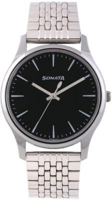 Sonata 77082SM01 Essentials Analog Watch For Men