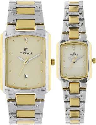 Titan NH19552955BM02 Bandhan Watch  - For Couple