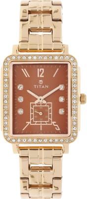 Titan 95042WM02J Purple Past Modern Analog Watch For Women