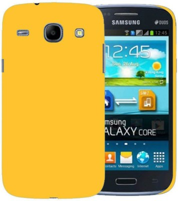Cover Up Back Cover for SAMSUNG Galaxy Core I8262(Yellow, Grip Case)