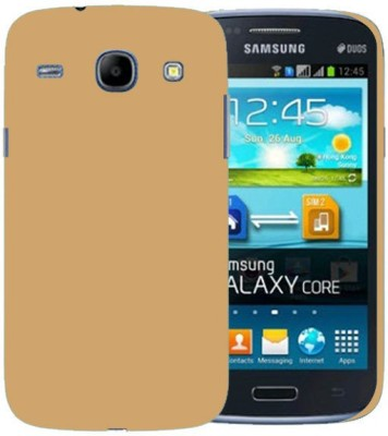 Cover Up Back Cover for SAMSUNG Galaxy Core I8262(Gold, Grip Case)