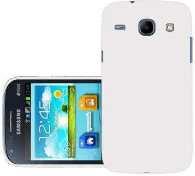 Trap Back Cover for SAMSUNG Galaxy Core I8262(White, Grip Case)