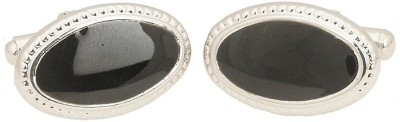 The Jewel Box Brass cufflink(Black)  available at flipkart for Rs.221