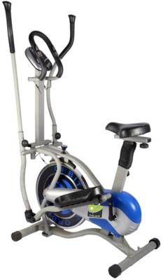 Procure H K2080 Dual-Action Stationary Exercise Bike(Multicolor, Silver, Blue)