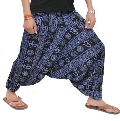Mudrika Printed Cotton Women's Harem Pants