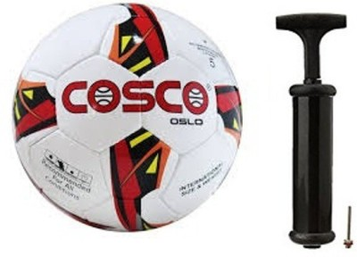Cosco Oslo Football with Hand Pump- Assorted Football Kit  available at flipkart for Rs.710