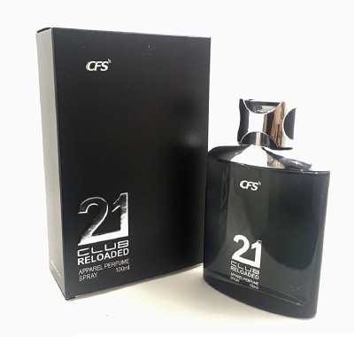 CFS Exotic 21 Club Black Reloaded Perfume Eau de Parfum  -  100 ml(For Men & Women)  available at flipkart for Rs.399