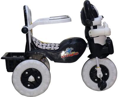 Babyjoys Baby Tricycle Black 86*64*33 cms 1-3 yrs - 1523MZnb Baby Tricycle Black 86*64*33 cms 1-3 yrs - 1523MZnb Tricycle(Black)