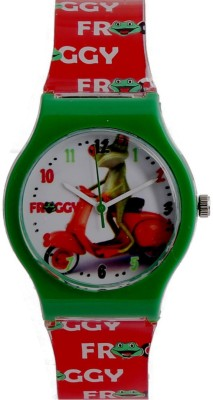COSMIC DESINGER AND FANCY PRINCES & HELLO KITTY CARTOON PRINTED ON TINNY DIAL KIDS & CHILDREN Watch  - For Boys & Girls