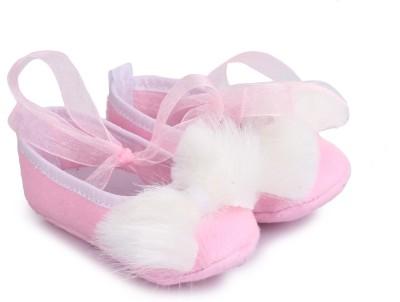 Barbie BBPGBO0133 Booties(Toe to Heel Length - 11 cm, Pink)