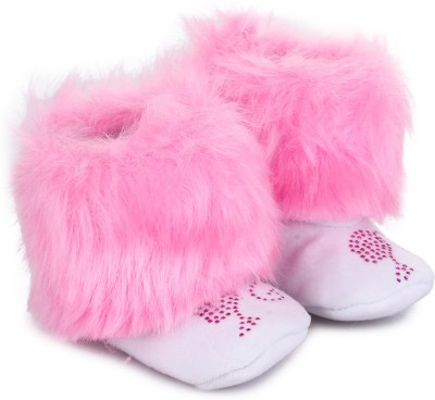Barbie BBPGBO0036 Booties(Toe to Heel Length - 11 cm Pink)