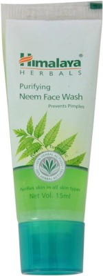 Himalaya him neem 100 ml Face Wash(100 ml)  available at flipkart for Rs.120