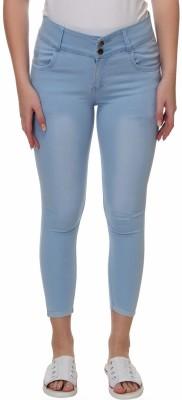 Broadstar Slim Women Light Blue Jeans