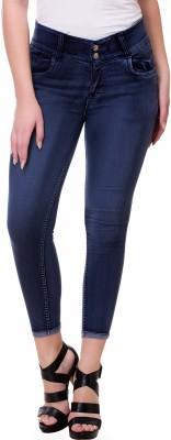 Broadstar Slim Women Blue Jeans