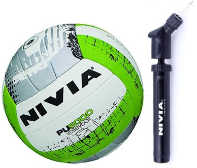 Nivia PU 5000 Volleyball + Ball Pump Combo Volleyball Kit  available at flipkart for Rs.799