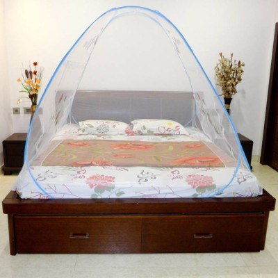 Guru Kripa Polyester Infants king size mosquito net Mosquito Net(Multicolor)