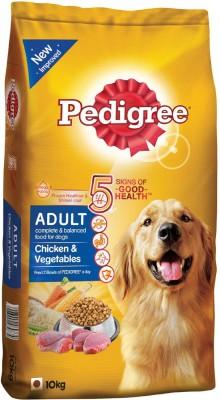 Pedigree Pedigree Adult Chicken And Vegetables Chicken 10 kg Dry Dog Food