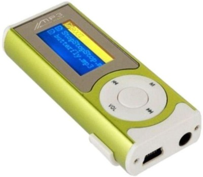 CRETO display mp3 supports micro sd card MP3 Player(Green, 1.2 Display) at flipkart