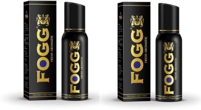 Fogg Fresh Aromatic Black Series Fragrance Body Spray Combo Perfume Body Spray For Men And Women