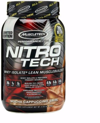 Muscletech Performance Series Nitrotech Whey Protein(907 g, Mocha Cappuccino Swirl)