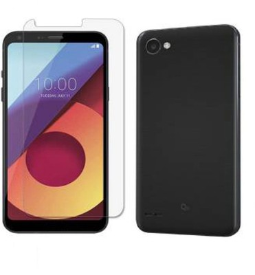 NAMYA Tempered Glass Guard for LG Q6 Pack of 1