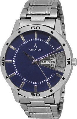 ADIXION 9315BM01 New Generation Steel Back Brace Case Watch  - For Men