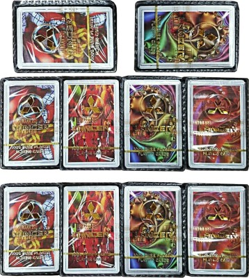 Lancer 100% PURE PLASTIC PLAYING CARDS (Set Of 10)(Multicolor)