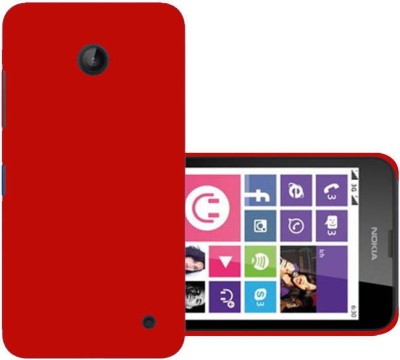 Top Grade Back Cover for Nokia Lumia 630 Red, Grip Case