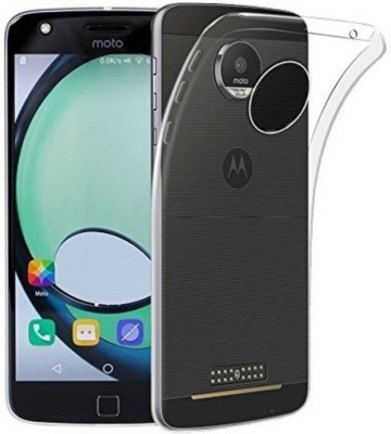 Icod9 Back Cover for Motorola Moto Z Play Transparent