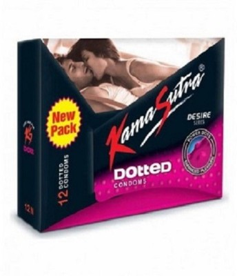 KamaSutra Dotted - 12 Condoms Condom(12S)  available at flipkart for Rs.100