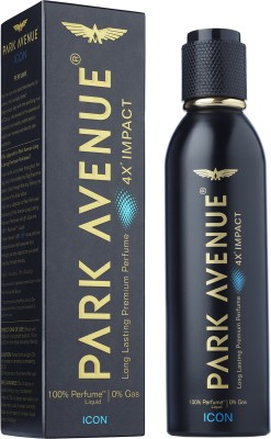 Park Avenue Impact Icon Perfumed Deodorant Spray  -  For Men(120 ml)  available at flipkart for Rs.184