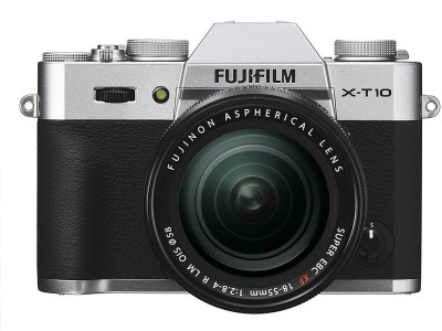 View Fujifilm X-T10 Silver with XF18-55mm Mirrorless Camera Kit(Silver)  Price Online