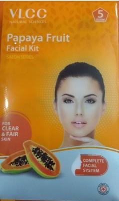 VLCC Saloon Series Papaya Fruit Facial kit ( 5 Session )