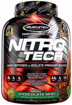 Muscletech Performance Series Nitrotech Whey Protein(1.82 kg, Chocolate Mint)