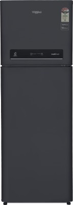 Whirlpool 360 L Frost Free Double Door 4 Star Refrigerator(Caviar Black, IF INV 375 ELT (4S)) at flipkart