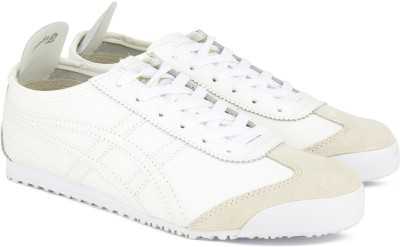 super popular a943c b6e49 Asics OnitsukaTiger MEXICO 66 Running Shoes For Men(White)