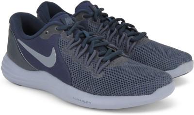 Nike LUNAR APPARENT Running Shoes For Men(Blue) 1