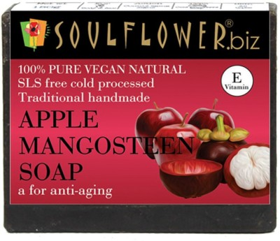 Soulflower Apple Mangosteen soap(150 g)