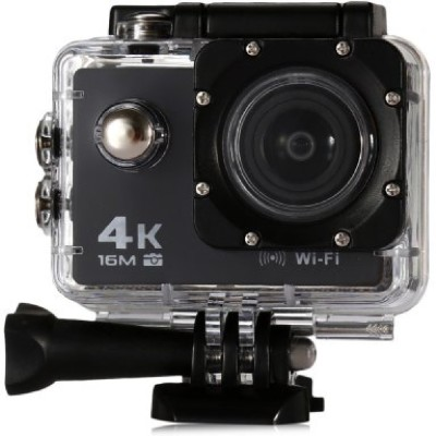 Style Maniac 4K Wifi Waterproof 2 inch LCD 12 Megapixels Sports and Action Camera(Black 12 MP)
