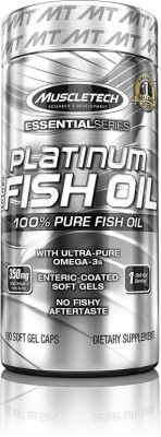 Muscletech Essential Series Platinum 100% Fish Oil 100 No