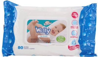 Wetty Sea Breeze Wipes