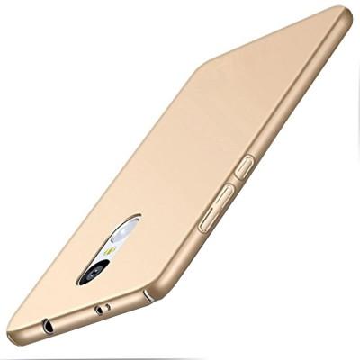 Spicesun Back Cover for Mi Redmi Note 4 Gold Spicesun Plain Cases   Covers