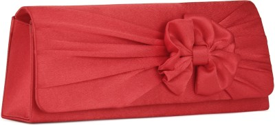 Chemistry Casual Red  Clutch at flipkart
