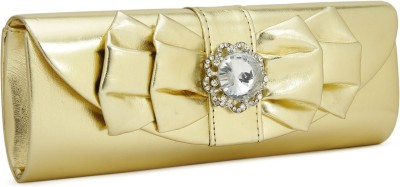 Chemistry Party Gold Clutch