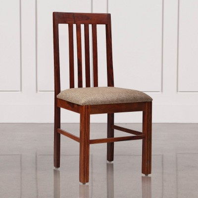 Durian PEARL Solid Wood Dining Chair(Set of 1, Finish Color - Buff Beige)