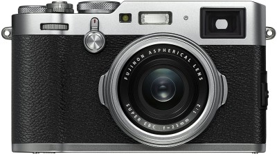 Fujifilm X100F Mirrorless Camera Body Only(Silver)